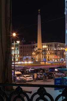Center Hotel - Saint-Pétersbourg - Balcon