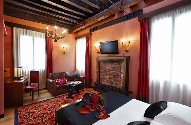 Hotel Saturnia & International - Venetsia - Makuuhuone