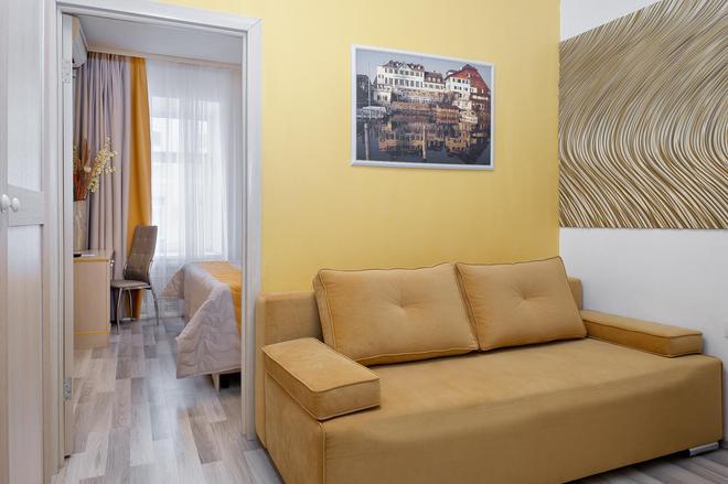 Hotel Key Element - Moscú - Sala de estar