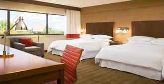 Four Points by Sheraton Fort Lauderdale Airport Cruise Port - פורט לודרדייל - חדר שינה