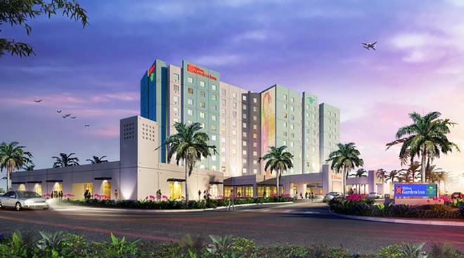 Hilton Garden Inn Miami Dolphin Mall - Miami - Edifício
