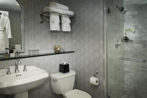 紐約曼哈頓俱樂部酒店 - 紐約 - 紐約 - 浴室