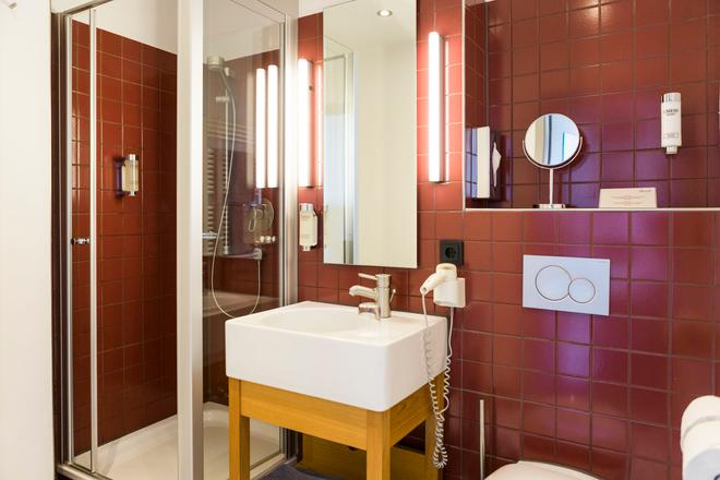 杜塞爾多夫阿蘇采特酒店 - 杜塞爾多夫 - 杜塞道夫 - 浴室