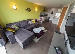 Kspace Serviced Apartments West One - Sheffield - Sala de estar