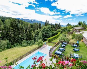 Hotel Langeshof - Anterivo - Zwembad