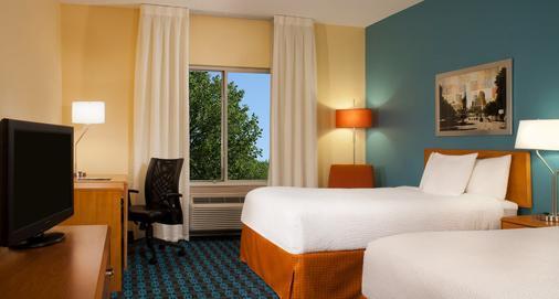 奧斯丁大學區萬豪費爾菲爾德套房酒店 - 奥斯汀 - 奧斯汀 - 臥室