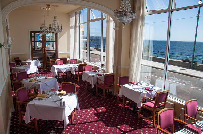 The Queens Hotel - Penzance - Ravintola