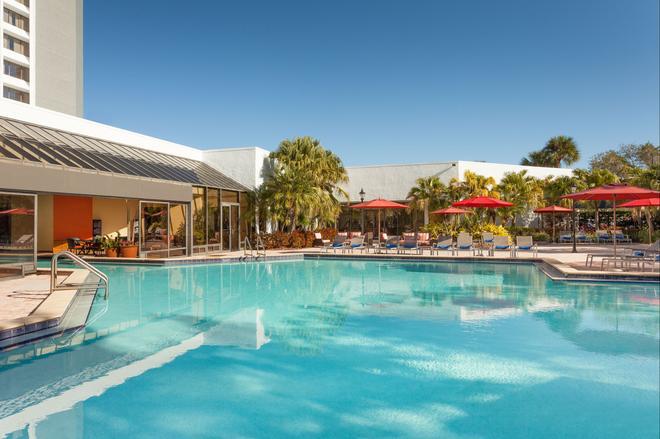 坦帕西岸萬豪酒店 - 坦帕 - 坦帕 - 游泳池