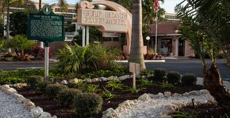 Gulf Beach Resort Motel - Sarasota - Edificio