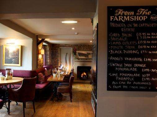 The Devonshire Arms at Pilsley - Bakewell - Restaurant