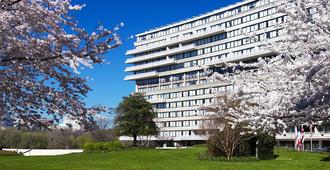 The Watergate Hotel - Washington DC - Bâtiment
