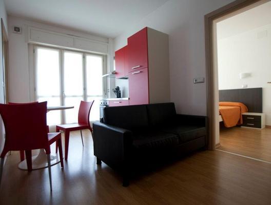 Hotel Sharing - Turin - Living room