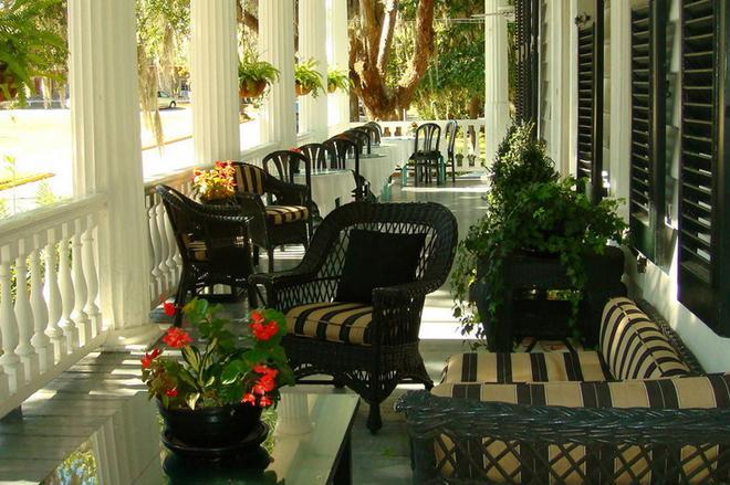 Rhett House Inn - Beaufort - Patio