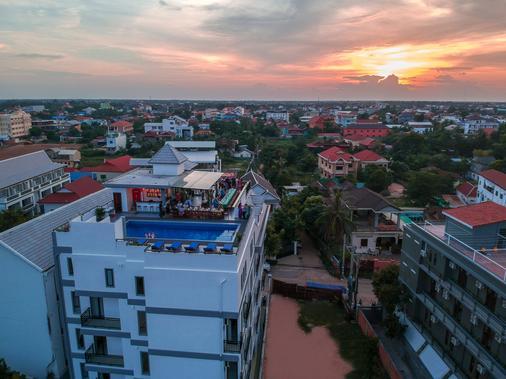 Angkor City View Hotel - Siem Reap - Toà nhà