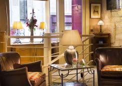Hotel Des Arts Paris Montmartre - Pariisi - Oleskelutila