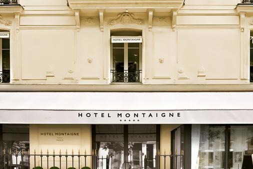Hôtel Montaigne - Pariisi - Rakennus