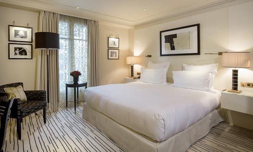 蒙田酒店 - 巴黎 - 巴黎 - 臥室