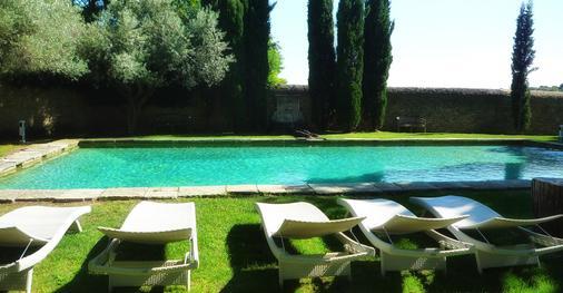 Domaine Des Escaunes - Sernhac - Pool