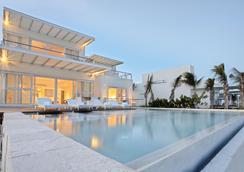 藍鑽奢華精品式酒店 - 只招待成人入住 - 卡曼海灘 - 普拉亞卡門 - 游泳池