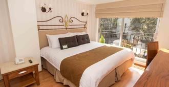 丁尼生套房遺產住宅酒店 - 墨西哥城 - 墨西哥城 - 臥室