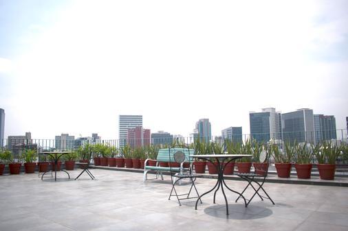 奧克拉荷馬套房遺產住宅酒店 - 墨西哥城 - 墨西哥城 - 露天屋頂