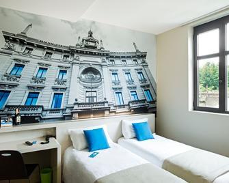 B&B Hotel Milano San Siro - Milaan - Slaapkamer
