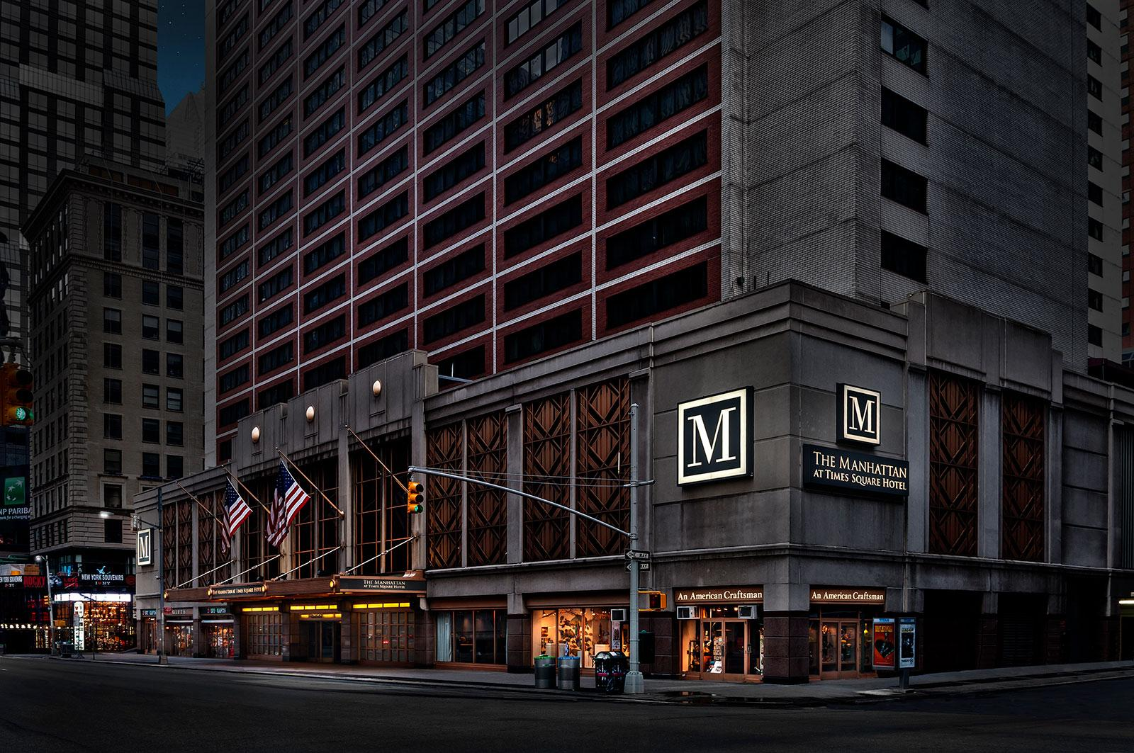 Search hundreds of travel sites at once for Times Square hotels in New York
