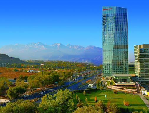 The Ritz-Carlton Almaty - Αλμάτι - Κτίριο