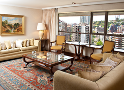 Hotel Plaza El Bosque Ebro - Santiago - Living room