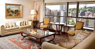 Hotel Plaza El Bosque Ebro - סנטיאגו - סלון