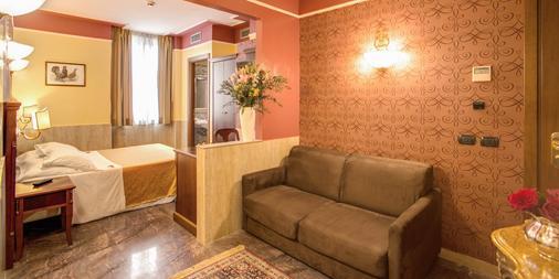 Aurelius Art Gallery Hotel - Rom - Wohnzimmer