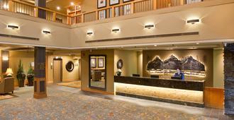 Banff Park Lodge - באנף - דלפק קבלה