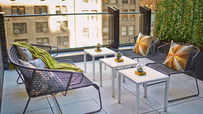 Le Méridien New York, Central Park - Нью-Йорк - Балкон