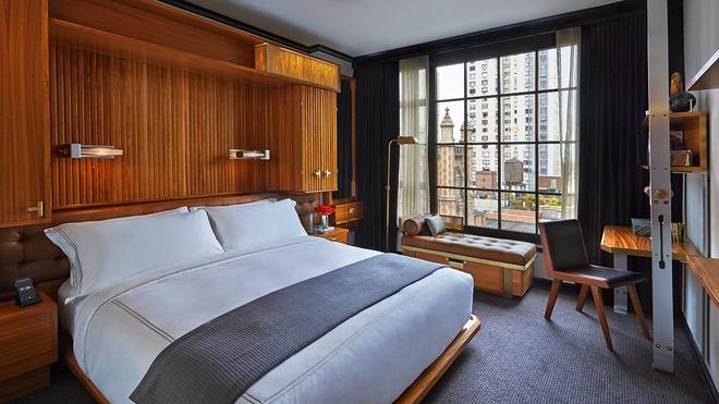 Le Méridien New York, Central Park - Нью-Йорк - Спальня