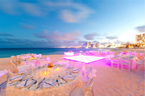 Krystal Grand Punta Cancun - Cancún - Salle de banquet