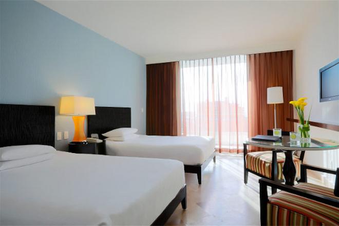 坎昆克里斯塔爾蓬塔大酒店- - Cancun/坎康 - 臥室