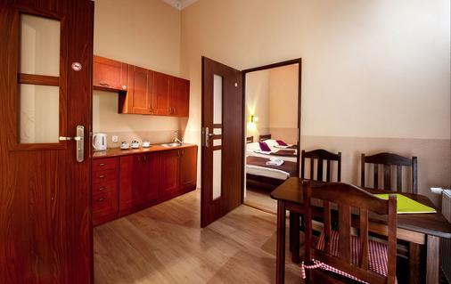 Station Aparthotel - Krakow - Dining room