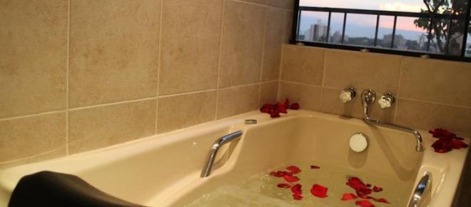 Premier Hill Suites Hotel - อะซุนซิออง - ห้องน้ำ