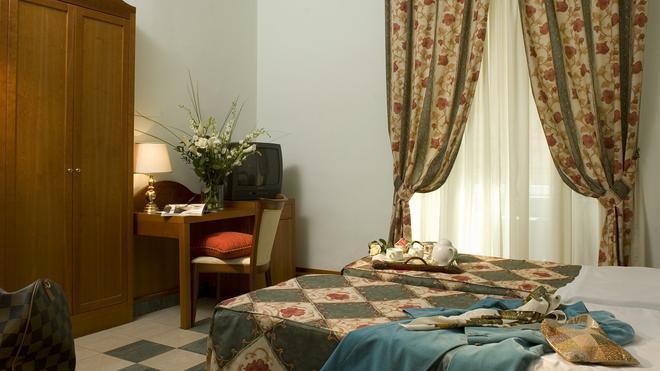 Hotel Aberdeen - Ρώμη - Κρεβατοκάμαρα
