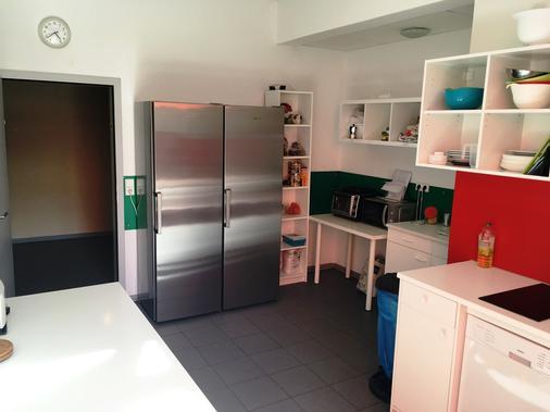 Gästehaus Kaiserpassage - Karlsruhe - Kitchen