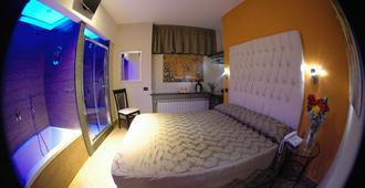 Hotel Kursaal - Neapel - Sovrum