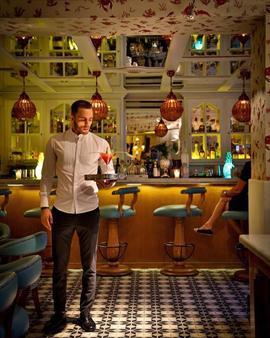 2希爾斯精品酒店 - 馬拉喀什 - 酒吧