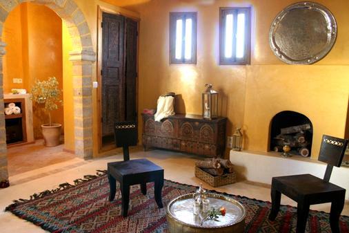 Riad Chbanate - Essaouira - Σαλόνι