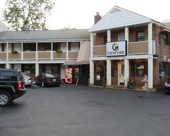Central Motel Courtyard - White Plains - Edificio