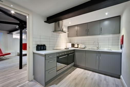 Ware Apart Hotel - Liverpool - Kitchen