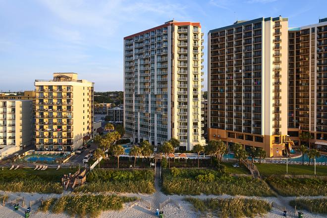 The Strand - A Boutique Resort - Myrtle Beach - Building
