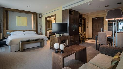 Eurostars Suites Mirasierra - Madrid - Phòng ngủ
