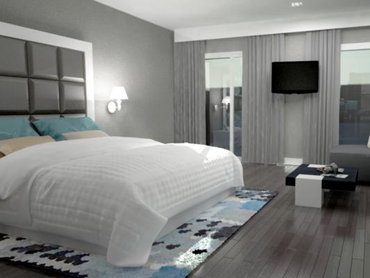 Eurostars Sidi Maarouf - Casablanca - Bedroom