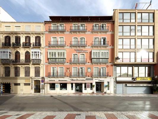 Hotel Tribuna - Málaga - Rakennus