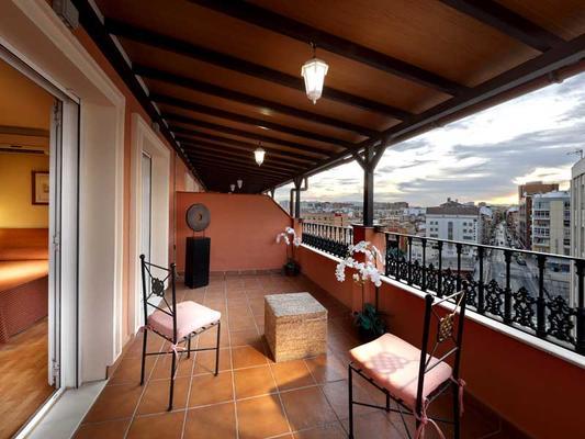 Hotel Tribuna - Málaga - Parveke
